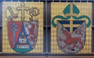 Wappen von Simon Konrad Landersdorfer und Bistum Passau